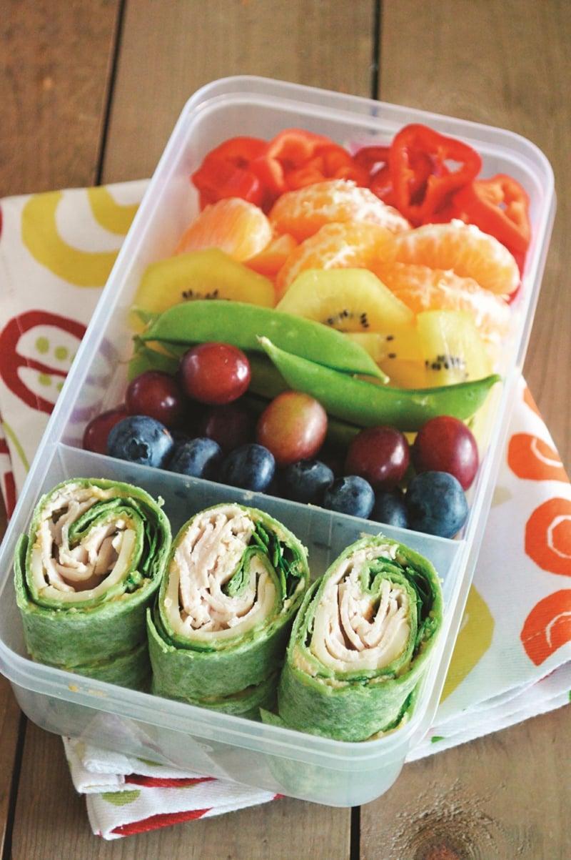rohe vegetarische Wraps