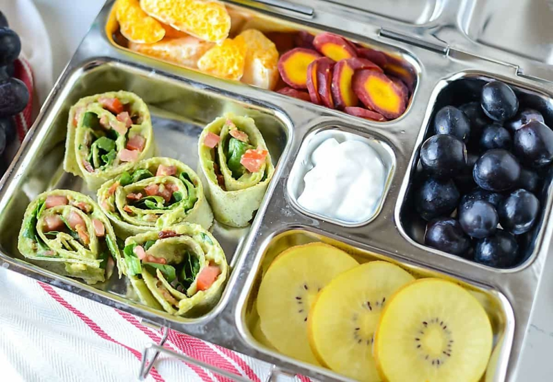 Lunchbox Ideen Wraps