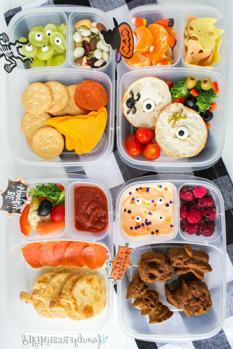 Lunchbox Ideen Halloween Kinder
