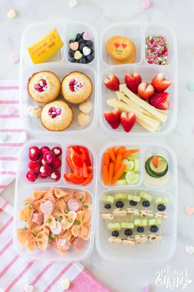 Lunchbox Ideen zum Valentinstag