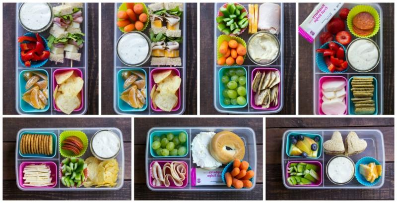 Lunchbox Ideen Behälter auswählen