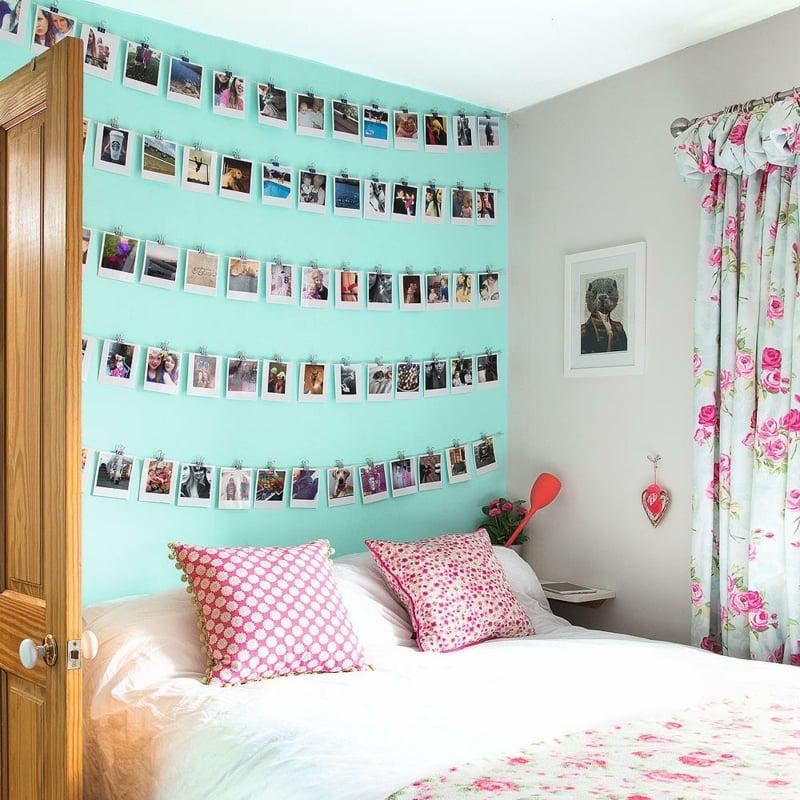 schöne Zimmer Ideen für Mädchen Dekowand