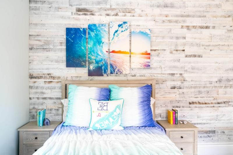 schöne Zimmer Ideen für Mädchen mit Farben spielen