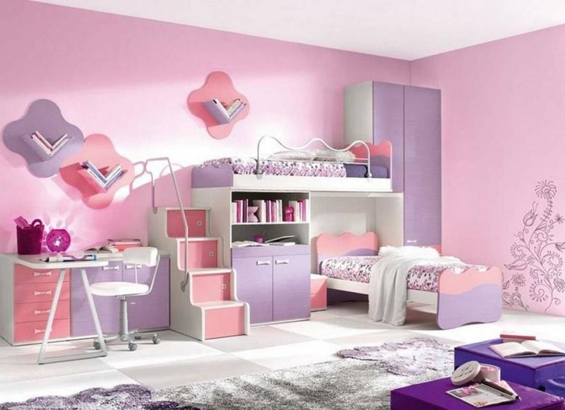 Einrichtungsideen Mädchenzimmer