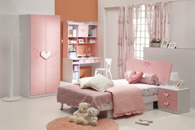 schöne Zimmer Ideen für Mädchen in Schulalter