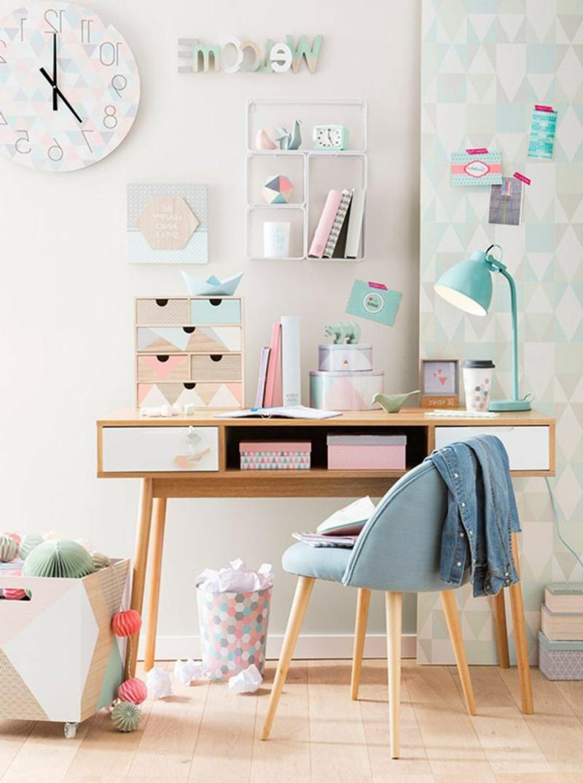 schöne Zimmer Ideen für Mädchen Schreibtisch