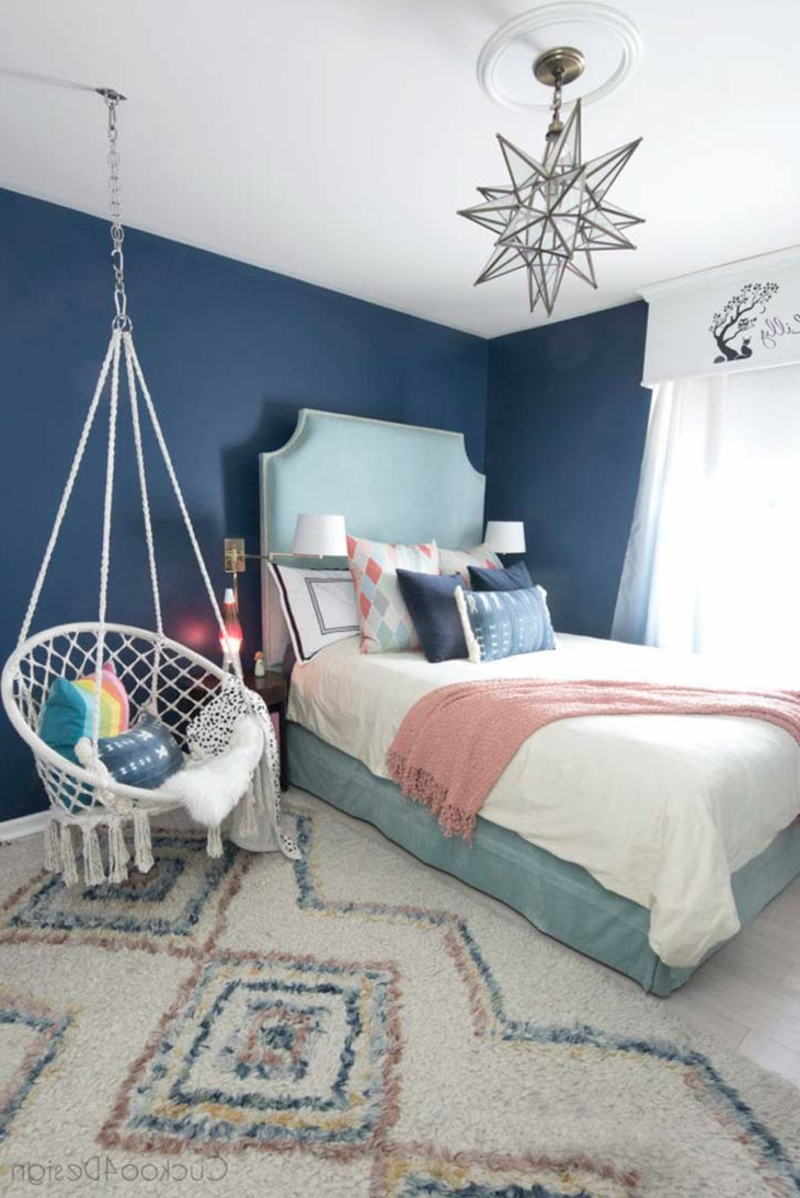 schöne Zimmer Ideen für Mädchen aktuelle Farbtrends