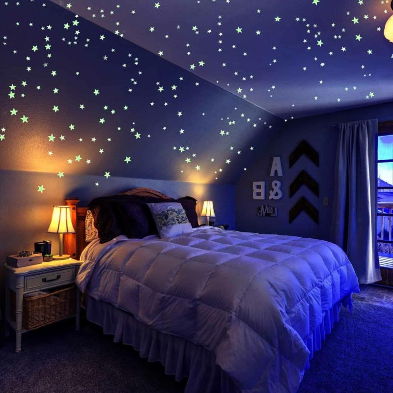 schöne Zimmer Ideen für Mädchen Sternenhimmel
