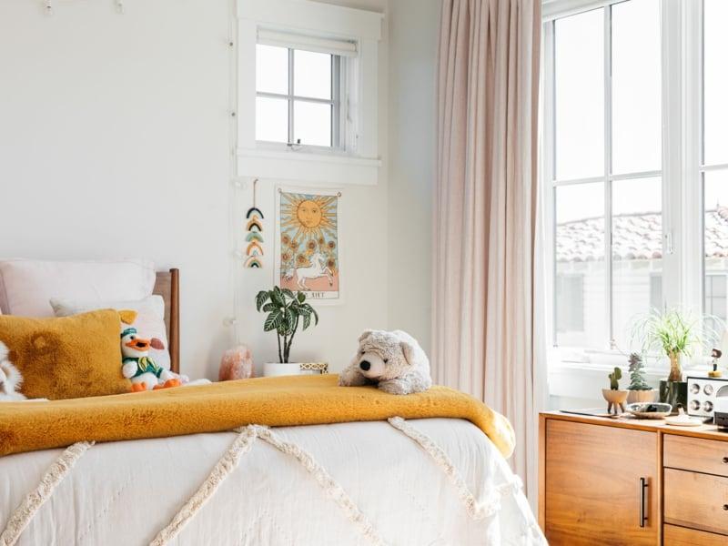schöne Zimmer Ideen für Mädchen neutrale Farbgestaltung