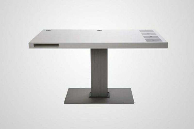 Schreibtisch minimalistisch ohne Stauraum
