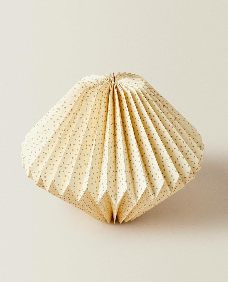 Origami Pendelleuchte selber falten