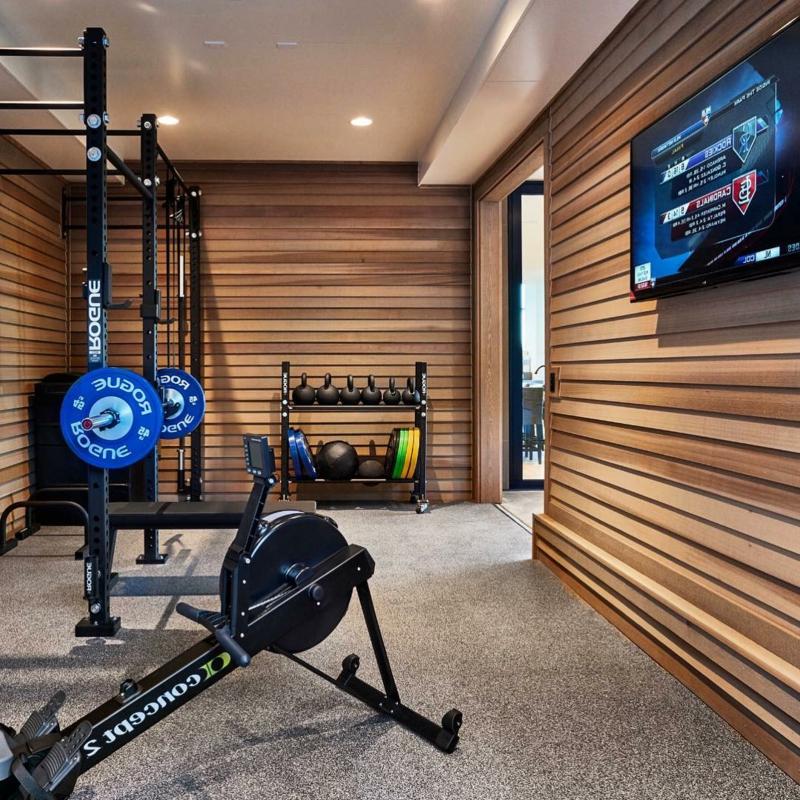Sportraum zu Hause wichtige Geräte