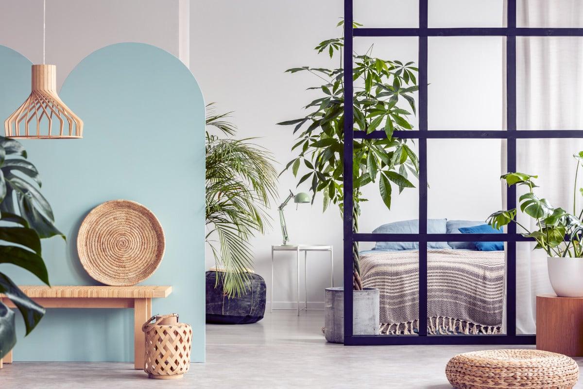 Raumteiler Ideen offener Wohnraum