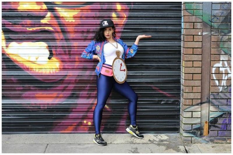 Hip Hop Outfit Frauen