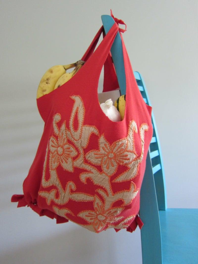 Stofftasche für den Supermarkt
