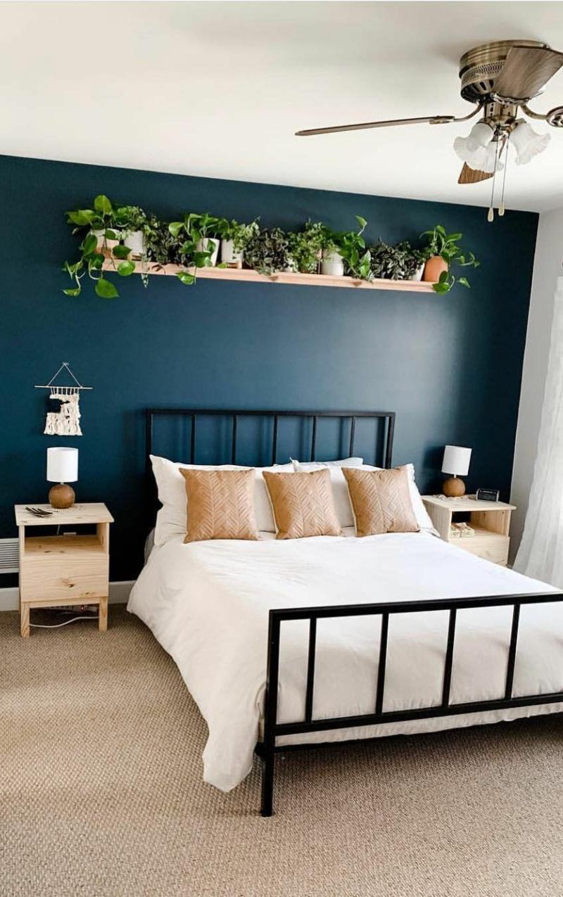 Schlafzimmer Akzentwand gestalten