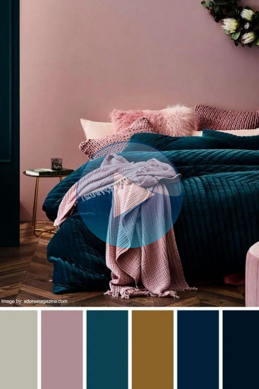 Schlafzimmer moderne Wandfarben