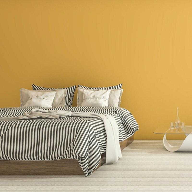 Raumgestaltung mit Farben warme Nuancen für das Schlafzimmer