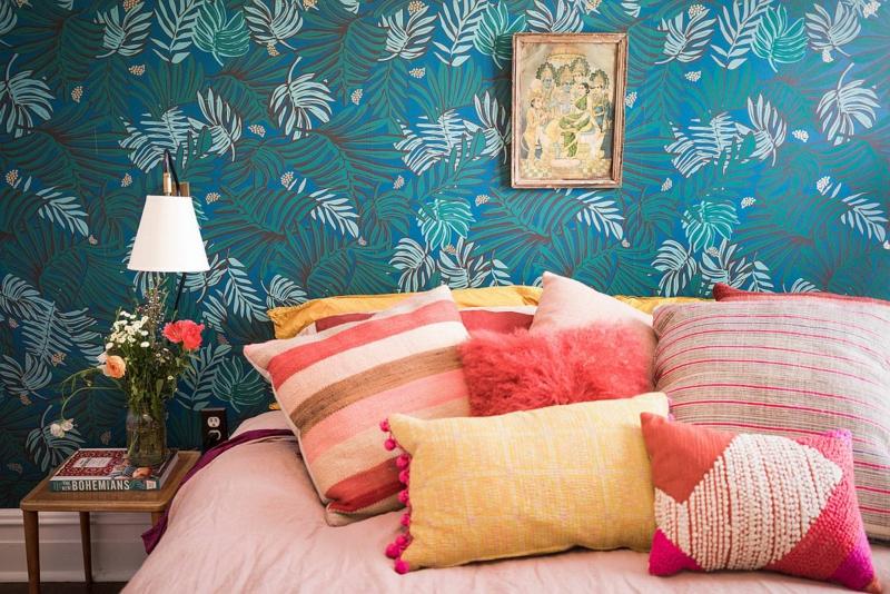 Tapeten für das Schlafzimmer auswählen