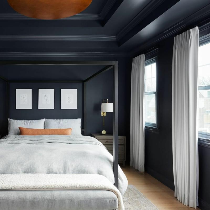 Raumgestaltung mit Farben kontrastierende Farbtöne