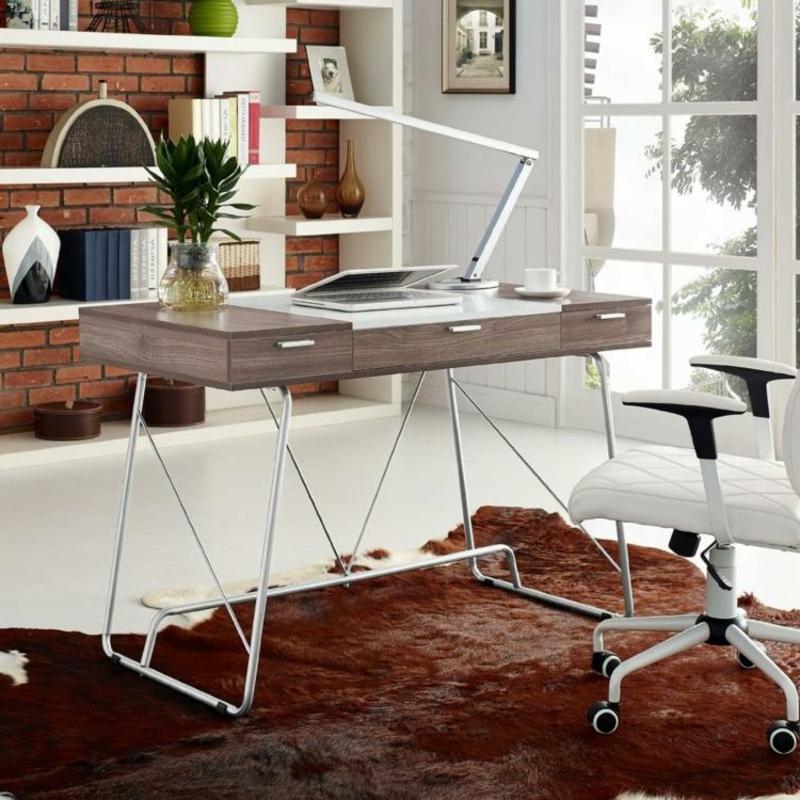 Schreibtisch industrieller Stil