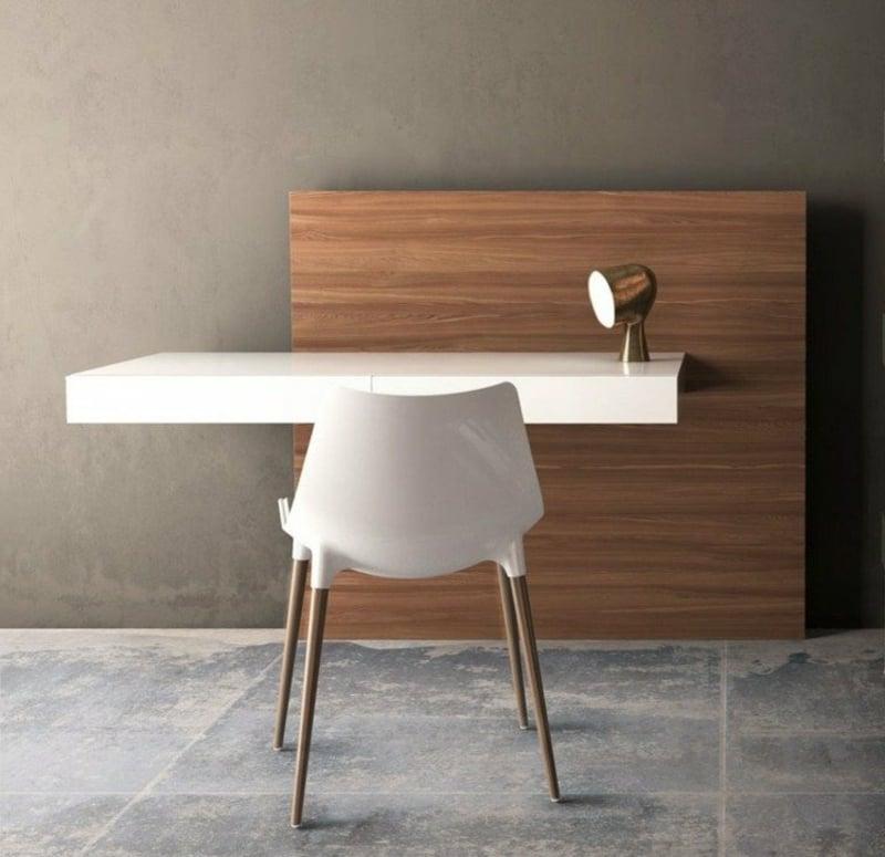 Arbeitszimmer Einrichtung minimalistischer Schreibtisch