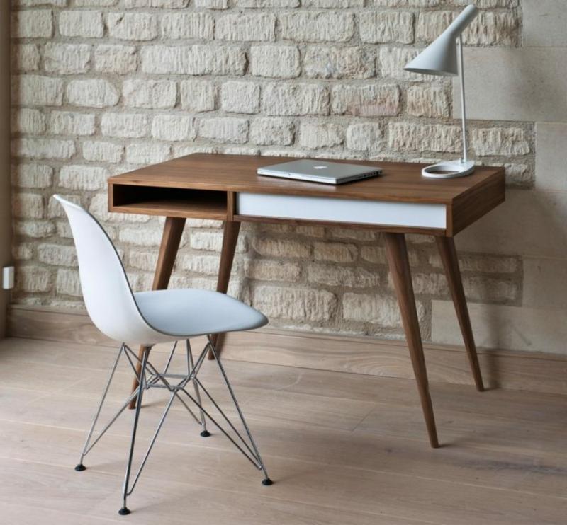 Arbeitszimmer Einrichtung skandinavisch minimalistisch