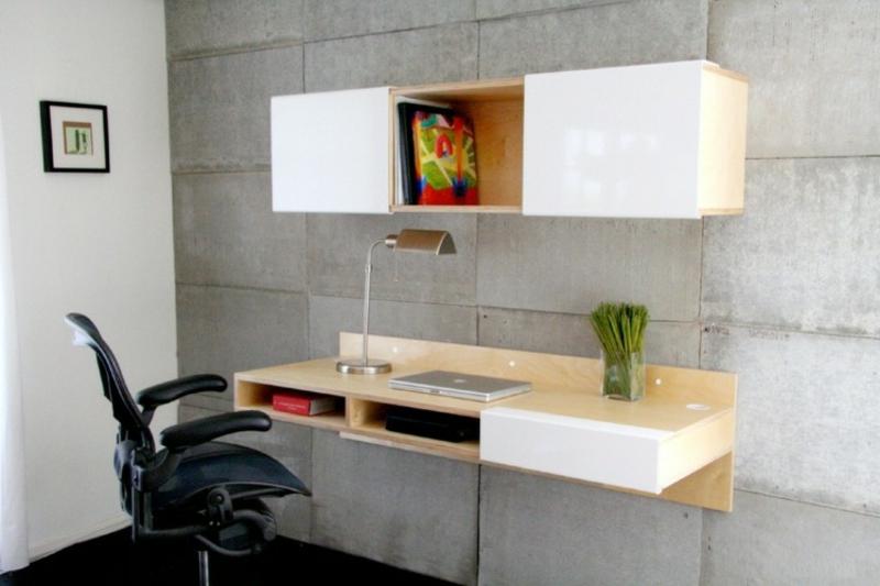 Home Office platzsparende Ideen