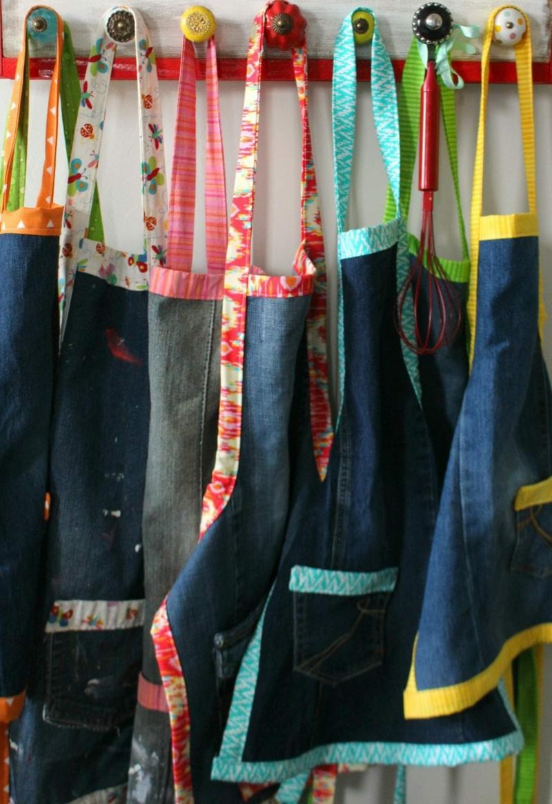 Upcycling Kleidung Schürzen