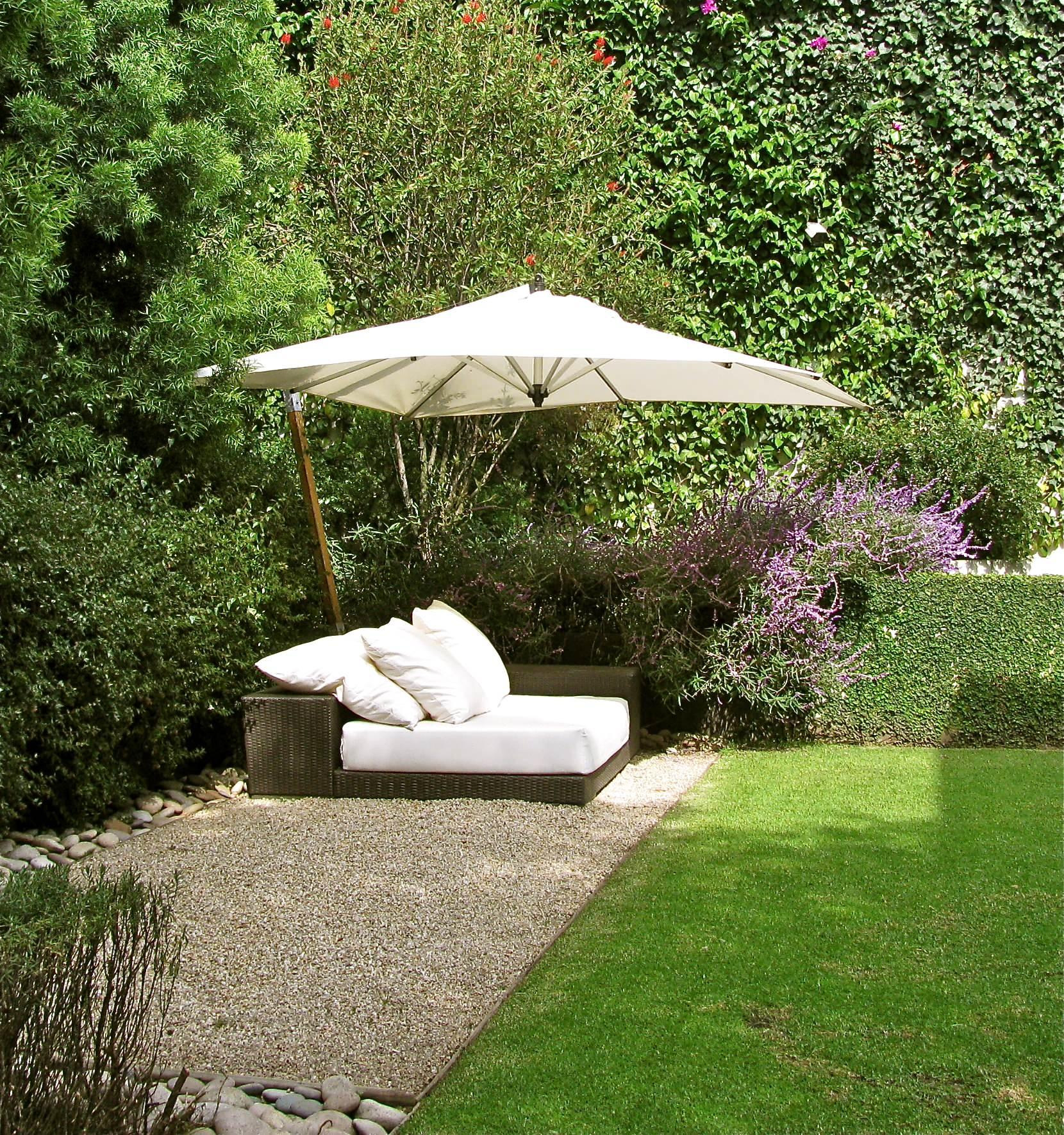 Sonnenschirm für den Garten - Die Funktionen müssen stimmen