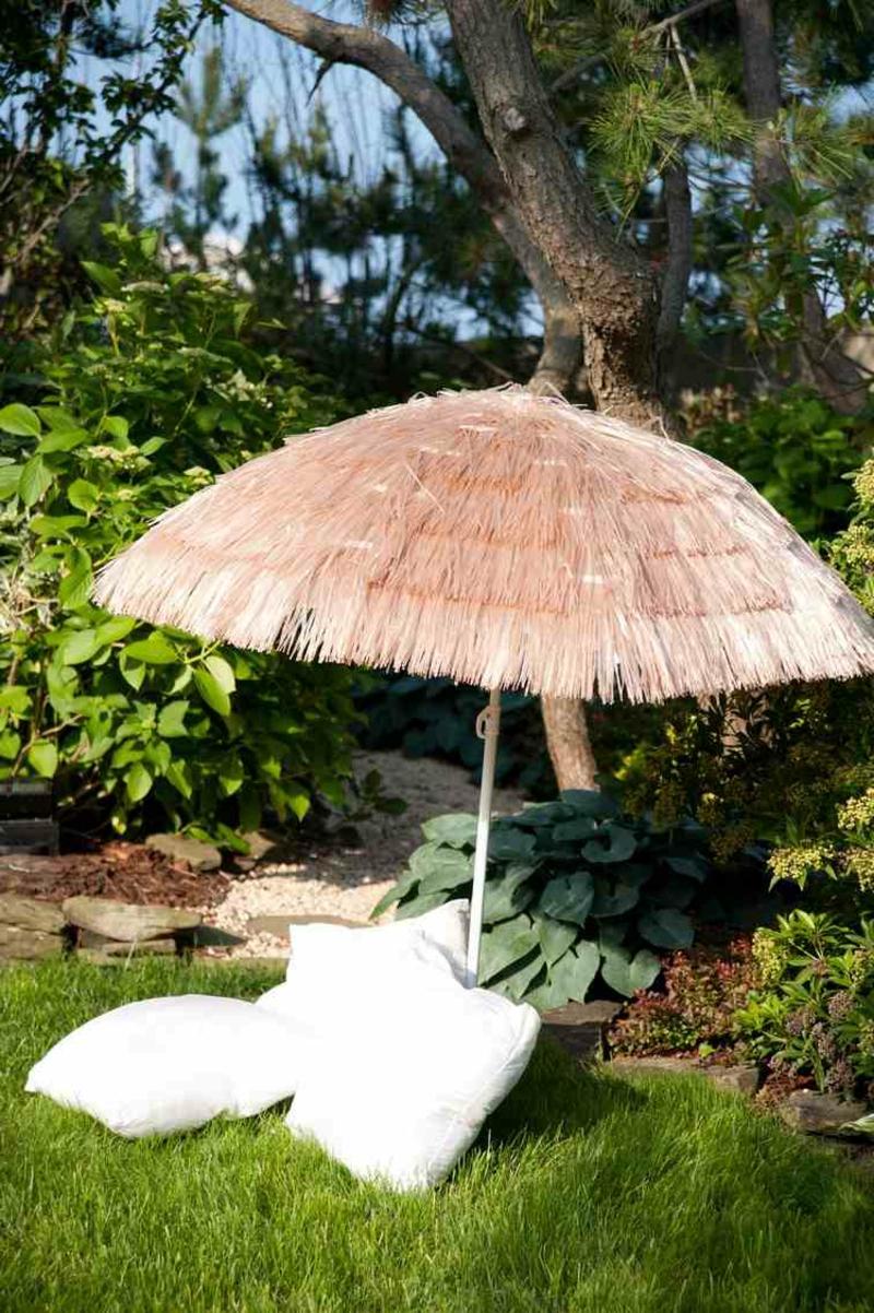 Garten maritim gestalten Wind- und Sonnenschutz