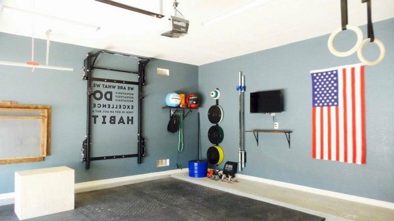 Fitnessraum Zuhause einrichten