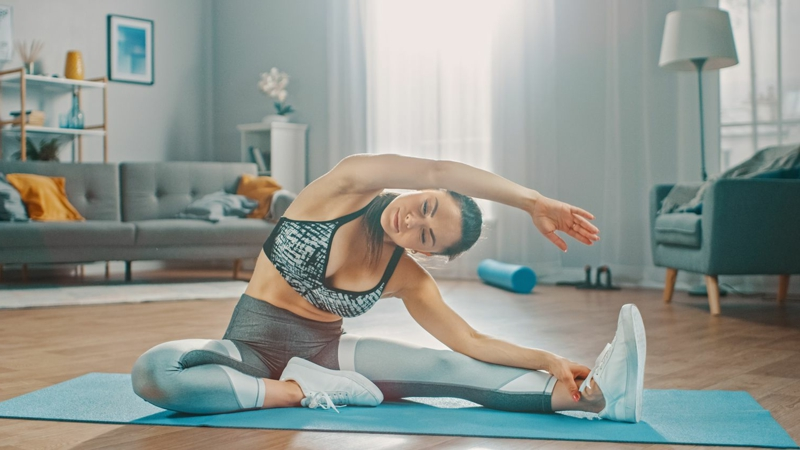 Bauchmuskeln trainieren zu Hause