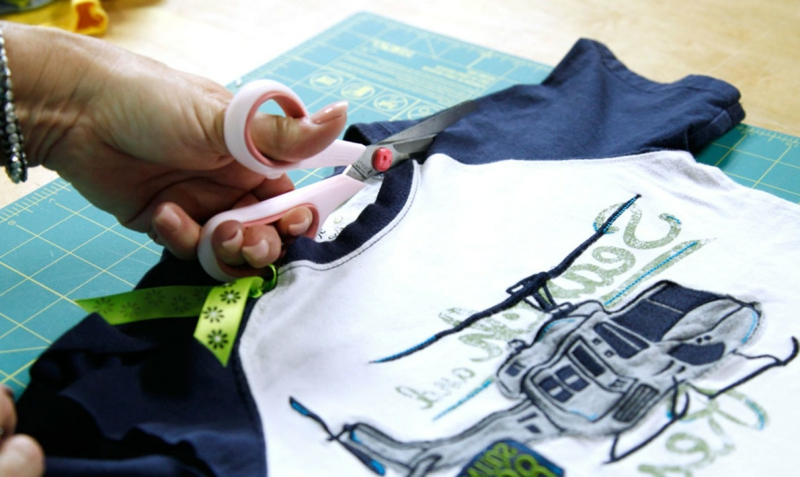 Upcycling Kleidung altes T-Shirt
