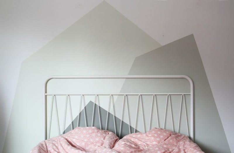 Schlafzimmer dekorieren Wände