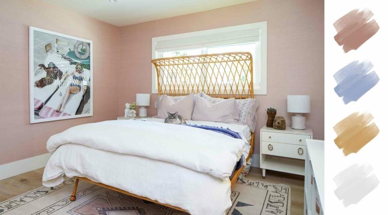 Farbpalette modern Schlafzimmer