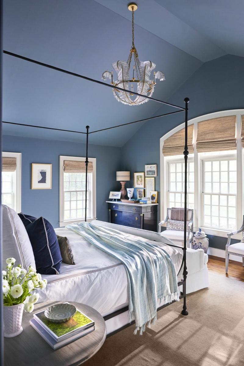 Raumgestaltung mit Farben im Schlafzimmer