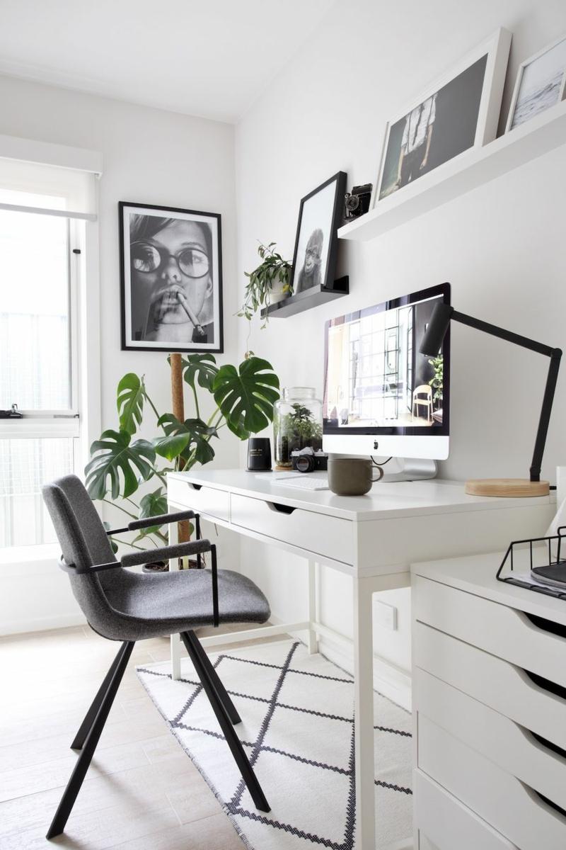 Arbeitszimmer Einrichtung modern und funktional