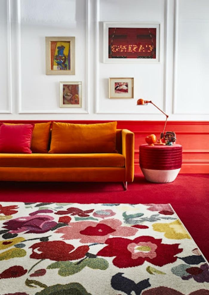 Wohnzimmer harmonische Farbkombinationen