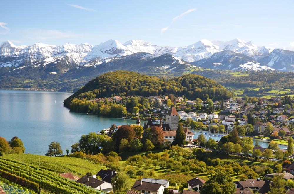 Urlaub in der Schweiz - Flüsse, Seen und Gletscher